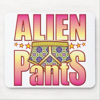 Alien Flowery Pants Mousemat