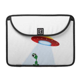 Alien & Flying Saucer Sleeves For MacBooks