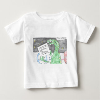 Alien gets a Ticket Baby T-Shirt