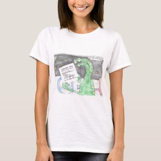 Alien gets a Ticket T-Shirt