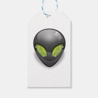 Alien Gray Design#2 Gift Tags
