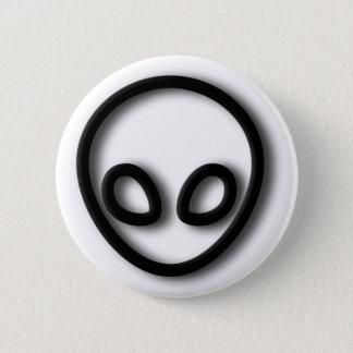 Alien Gray Design 2 Inch Round Button