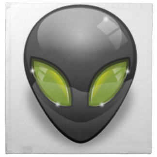 Alien Gray Design#2 Napkin