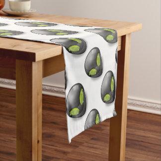 Alien Gray Design#2 Short Table Runner