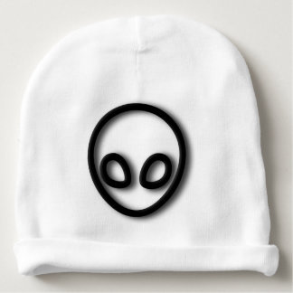 Alien Gray Design Baby Beanie