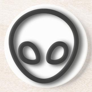 Alien Gray Design Coaster