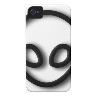 Alien Gray Design iPhone 4 Case-Mate Cases