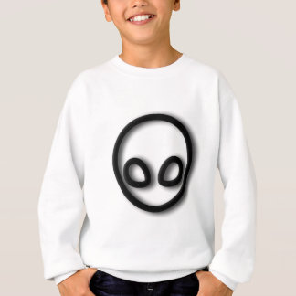 Alien Gray Design Sweatshirt