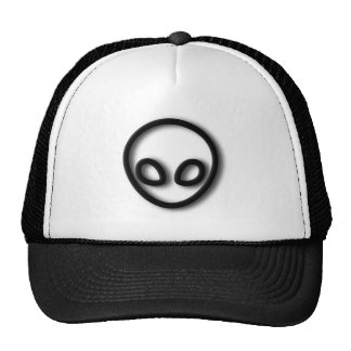 Alien Gray Design Trucker Hat