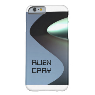Alien gray teaspoon eye barely there iPhone 6 case