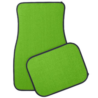 Alien Green Car Mats