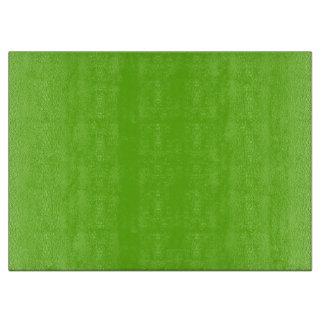 Alien Green Glass Cutting Board