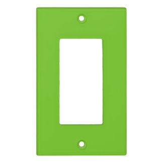 Alien Green Light Switch Cover