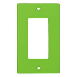 Alien Green Light Switch Plate