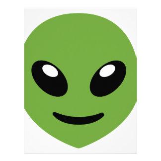 Alien Green Space Letterhead