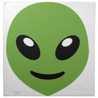 Alien Green Space Napkin