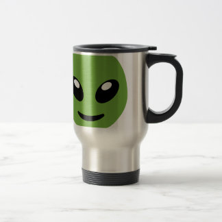 Alien Green Space Travel Mug