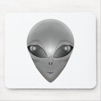 Alien Grey Mouse Pad