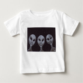 Alien Greys Baby T-Shirt