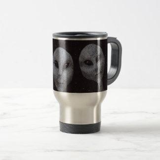 Alien Greys Travel Mug