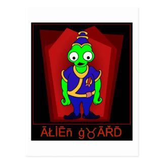 ALIEN Guard Postcard