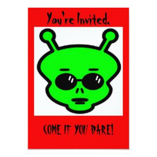 Alien Halloween Invitation