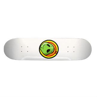 Alien Head Custom Skateboard