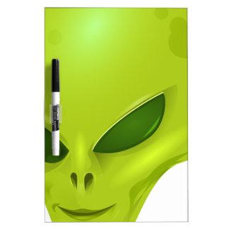Alien Head Dry-Erase Board