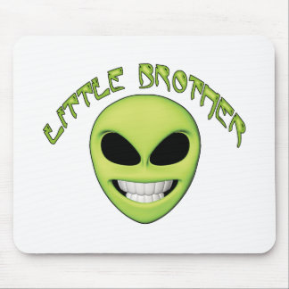 Alien Head Little Brother Mouse Pad