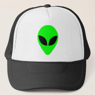 Alien Head Trucker Hat