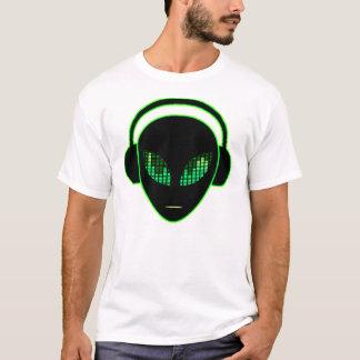 Alien Headphones T-Shirt