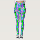alien hologram leggings