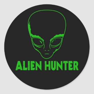 Alien Hunter Sticker