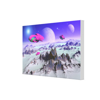 Alien hunters canvas print