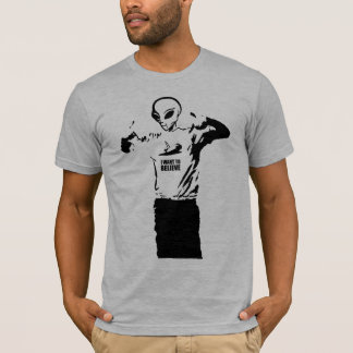 Alien - I want to believe T-Shirt