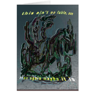 alien in human dreams card