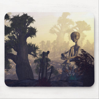 Alien In Nature Mouse Pad