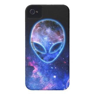 Alien in Space iPhone 4 Cases