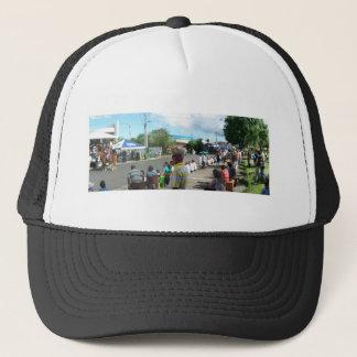 alien in the crowd trucker hat