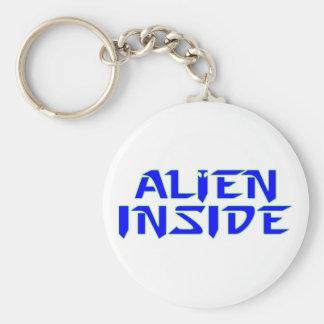 alien inside keychain