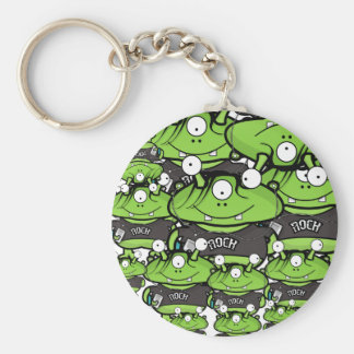 Alien Invasion! Keychain