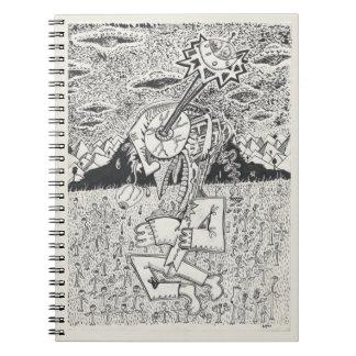 Alien Invasion, or, The Seeding Notebooks