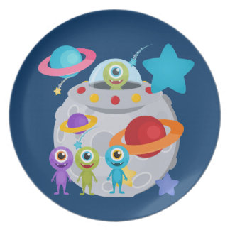 Alien Invasion Plate