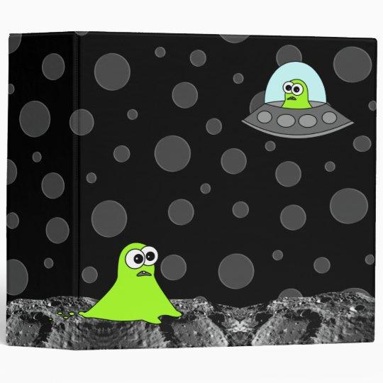 Alien Invasion School Binder