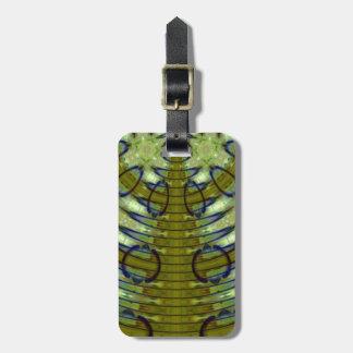 Alien Jungle Luggage Tag