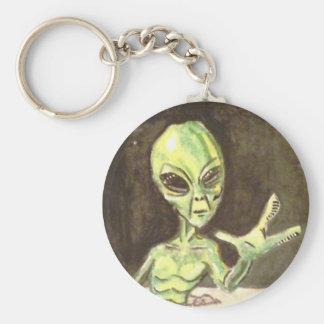 Alien Keyring Keychains