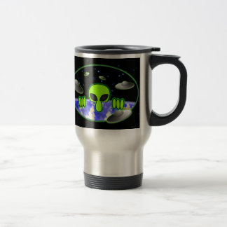 Alien Kilroy Travel Mug