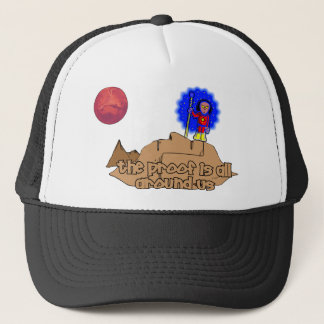 Alien Landscape Trucker Hat