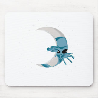 Alien-life Mouse Pad