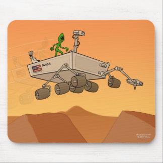 Alien Life on Mars Mousepad